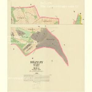 Břzezy - c0571-1-004 - Kaiserpflichtexemplar der Landkarten des stabilen Katasters