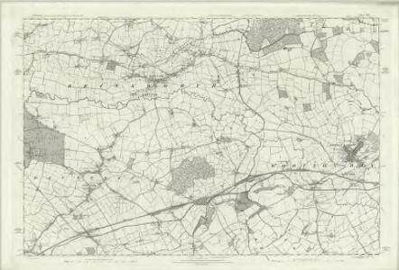 Wiltshire X - OS Six-Inch Map