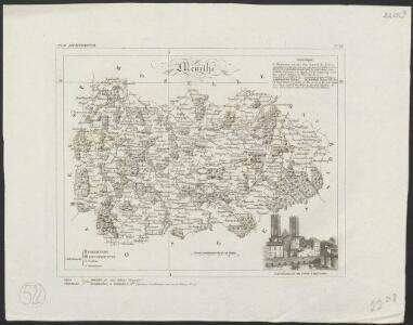 [Atlas départemental : La France et ses colonies] No. 53 Meurthe