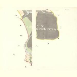 Sklenau (Sklenowa) - m2737-1-006 - Kaiserpflichtexemplar der Landkarten des stabilen Katasters