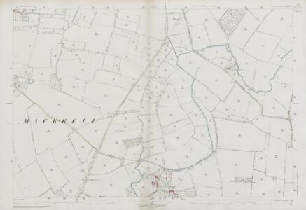 Somerset LXXIV.1 (includes: Babcary; Charlton Mackrell; West Camel) - 25 Inch Map
