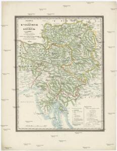 Carte del regno d'Illiria e del ducato Stiria