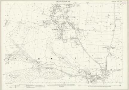 Derbyshire XII.16 (includes: Eckington) - 25 Inch Map