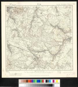 Meßtischblatt 72(2878) : Löbau, 1933