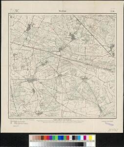 Meßtischblatt 2250 : Waldow, 1918