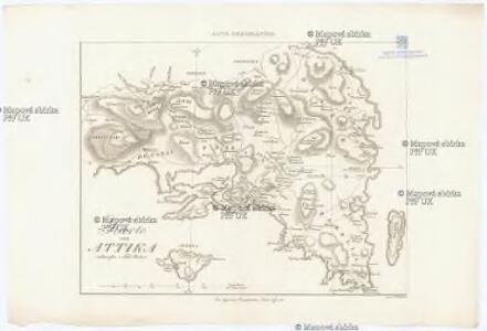 Karte von Attika
