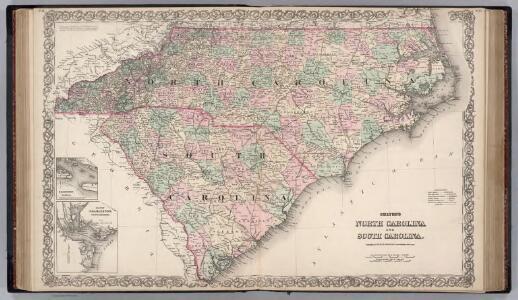 North Carolina and South Carolina.
