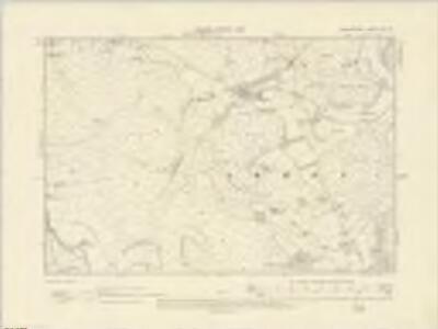 Radnorshire VIII.SE - OS Six-Inch Map