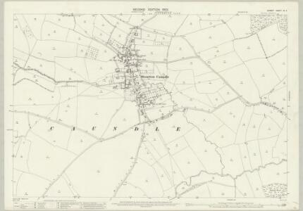 Dorset XII.4 (includes: Lydlinch; Stalbridge; Stourton Caundle) - 25 Inch Map