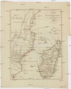 Charte von einem Theile der Ost-Küste von Africa
