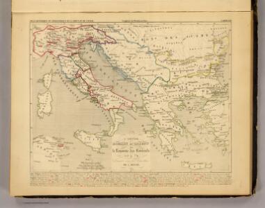 L'Empire Romain d'Orient, Royaume des Lombards 553 a 774.