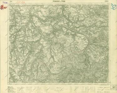 III. vojenské mapování 3652
