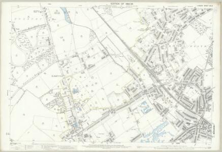 London (Edition of 1894-96) CXLIX (includes: Croydon St John The Baptist) - 25 Inch Map