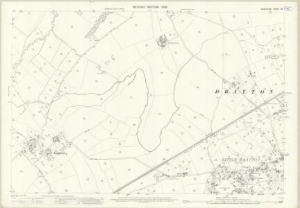 Shropshire XVI.1 (includes: Market Drayton; Moreton Say) - 25 Inch Map