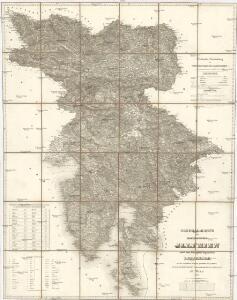 General-Karte des Königreichs Jllyrien