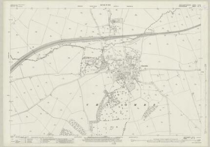 Northamptonshire LVIII.2 (includes: Chalcombe; Wardington) - 25 Inch Map