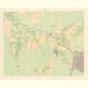 Gross Bistrzitz (Welky Bistrzice) - m3258-1-008 - Kaiserpflichtexemplar der Landkarten des stabilen Katasters