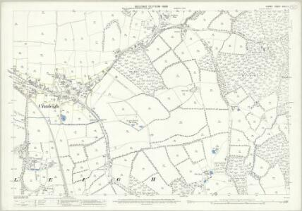 Surrey XXXIX.11 (includes: Cranleigh) - 25 Inch Map