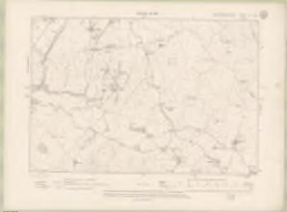 Kirkcudbrightshire Sheet LV.NE - OS 6 Inch map
