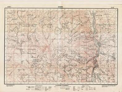 Lambert-Cholesky sheet 2252 (Armeniş)
