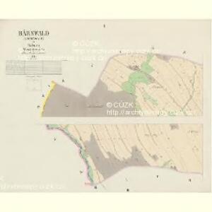Bärnwald (Baernwald) - c5052-1-001 - Kaiserpflichtexemplar der Landkarten des stabilen Katasters