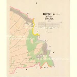 Rossecz - c6534-1-002 - Kaiserpflichtexemplar der Landkarten des stabilen Katasters