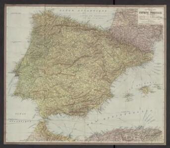 Cartes Blondel : Espagne-Portugal au 2.000.000e