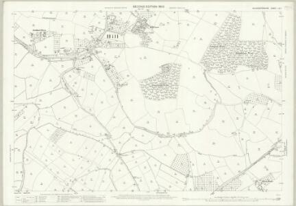 Gloucestershire LV.11 (includes: Ham and Stone; Hill; Oldbury upon Severn; Rockhampton) - 25 Inch Map