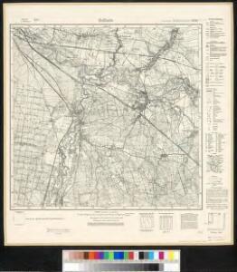 Meßtischblatt 4458 : Mallmitz, 1937