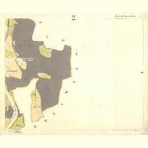 Rosenberg - c6601-1-006 - Kaiserpflichtexemplar der Landkarten des stabilen Katasters
