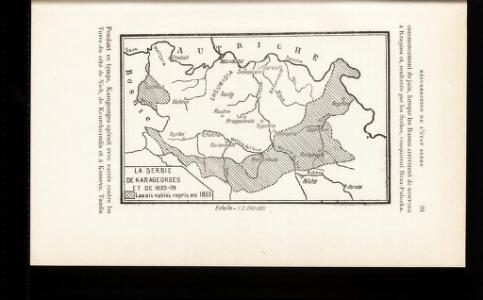 La Serbie de Karageorges et de 1833-78
