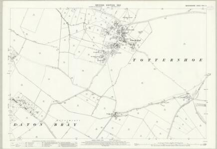 Bedfordshire XXXII.5 (includes: Dunstable; Eaton Bray; Edlesborough; Totternhoe) - 25 Inch Map