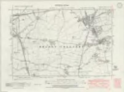 Durham VII.NE - OS Six-Inch Map