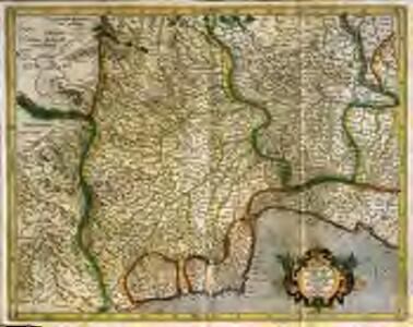 Pedemontana regio cum Genvensivm territorio & Montisferrati marchionatu