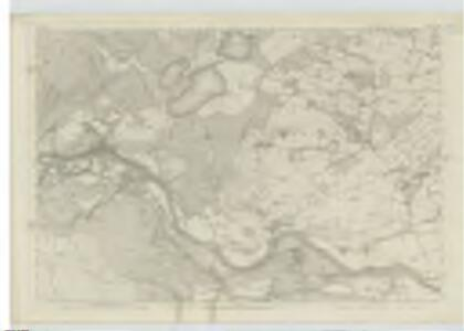 Perthshire, Sheet LXII - OS 6 Inch map