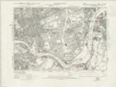 Durham III.SW - OS Six-Inch Map