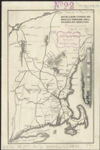 Boston Clinton Fitchburg and Mansfield Framingham Lowell Railroads, and connections
