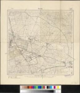 Meßtischblatt 2179 : Baruth, 1916