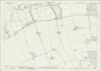 Berkshire VIII.7 (includes: Buckland; Great Faringdon; Hatford) - 25 Inch Map