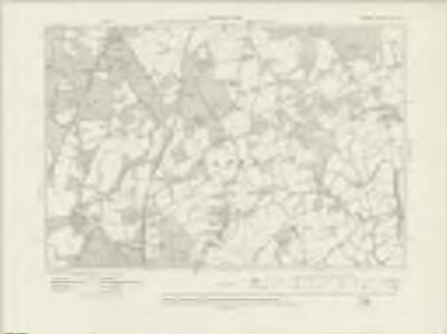 Surrey XL.NE - OS Six-Inch Map