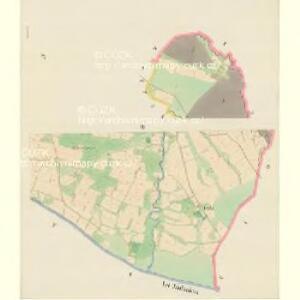 Jablunkau (Kablunkow) - m1011-1-007 - Kaiserpflichtexemplar der Landkarten des stabilen Katasters