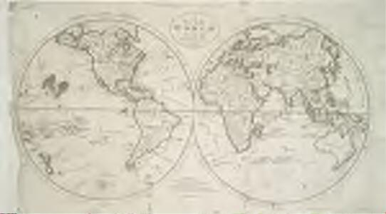 A map of the world from the best authorities / Thackara & Vallance, sc.