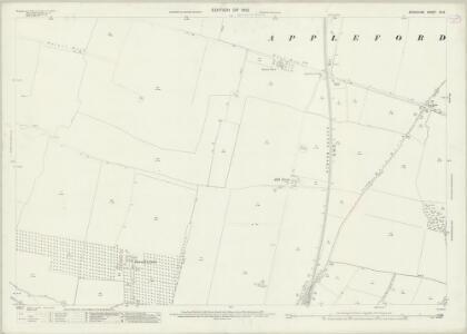 Berkshire XV.3 (includes: Appleford; Didcot; Long Wittenham; Sutton Courtenay) - 25 Inch Map