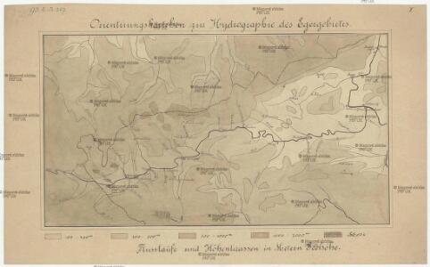 Orientirungskartchen zur Hydrographie des Egergebietes