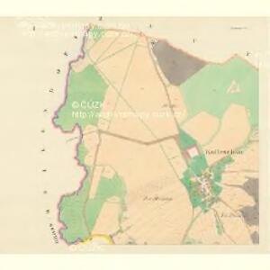 Kolleschau (Koleschau) - m1248-1-001 - Kaiserpflichtexemplar der Landkarten des stabilen Katasters
