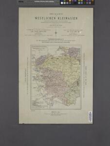 Index / dressée par Henri Kiepert d'après ses propres observations et d'autres levées pour la plupart inédites = Map of the western part of Asia Minor