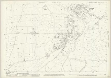 Cheshire LIII.11 (includes: Crewe; Farndon; Holt) - 25 Inch Map
