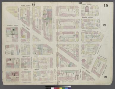 [Plate 18: Map bounded by Spring Street, Clarke Street, Broome Street, Sullivan Street, Grand Street, Thompson Street, Laight Street, West Street]