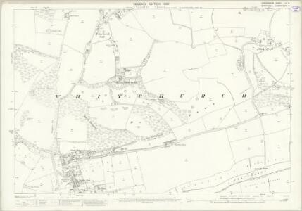 Oxfordshire LV.8 (includes: Purley; Saltney Mead; Whitchurch) - 25 Inch Map