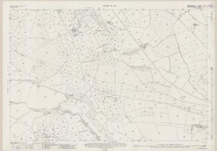 Derbyshire XXVII.1 (includes: Hartington Middle Quarter; Heathylee; Hollinsclough; Longnor) - 25 Inch Map